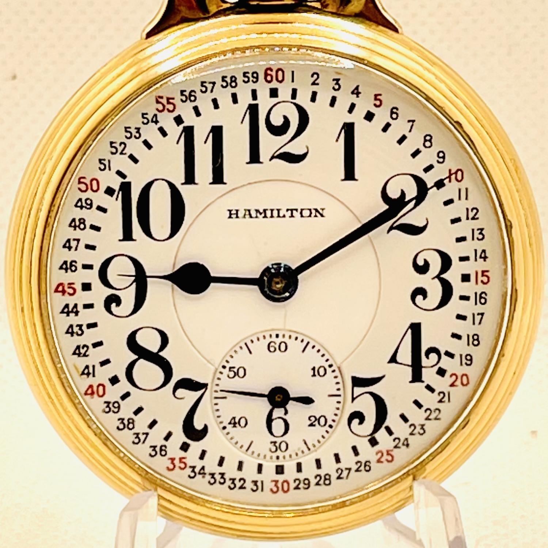 Image of Hamilton 992E #2625500 Dial