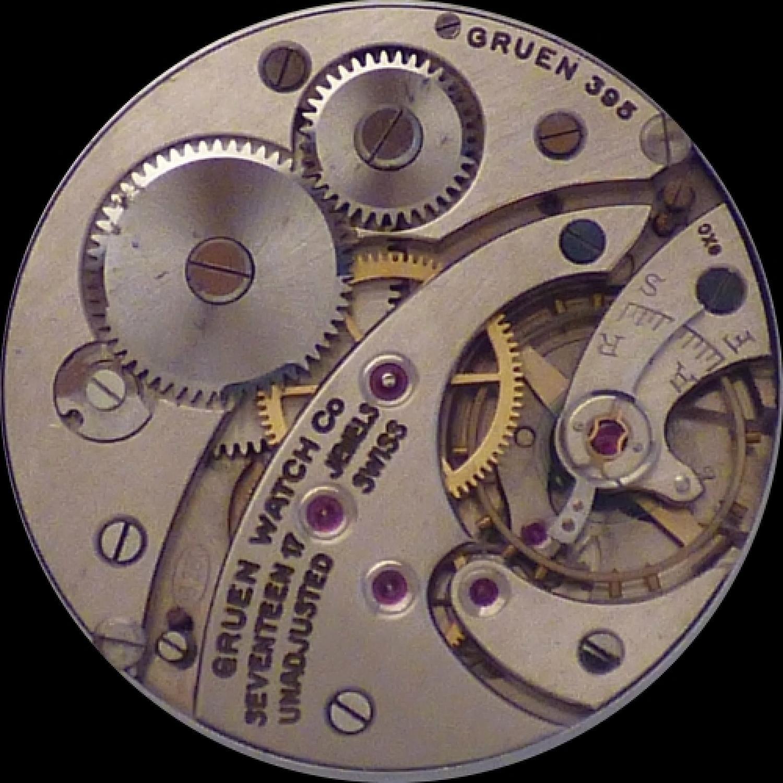 Image of Gruen Watch Co. 395 #NONE Movement