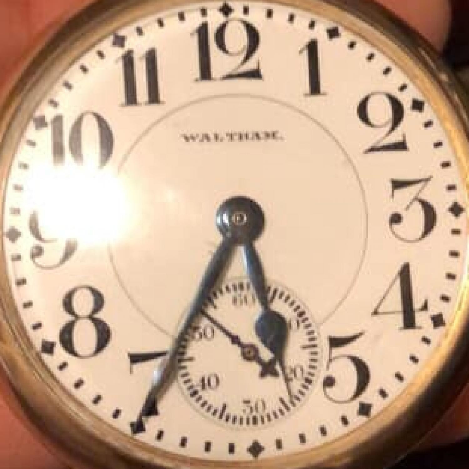 Image of Waltham No. 645 #22120931 Dial