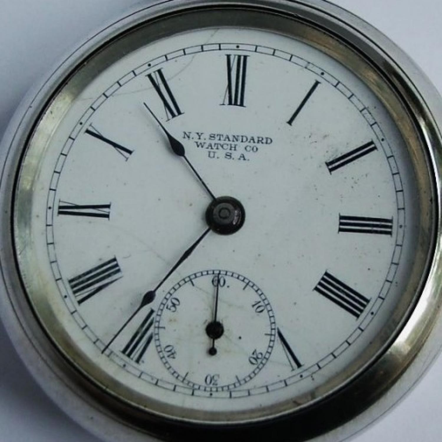 Image of New York Standard Watch Co.  #1472658 Dial