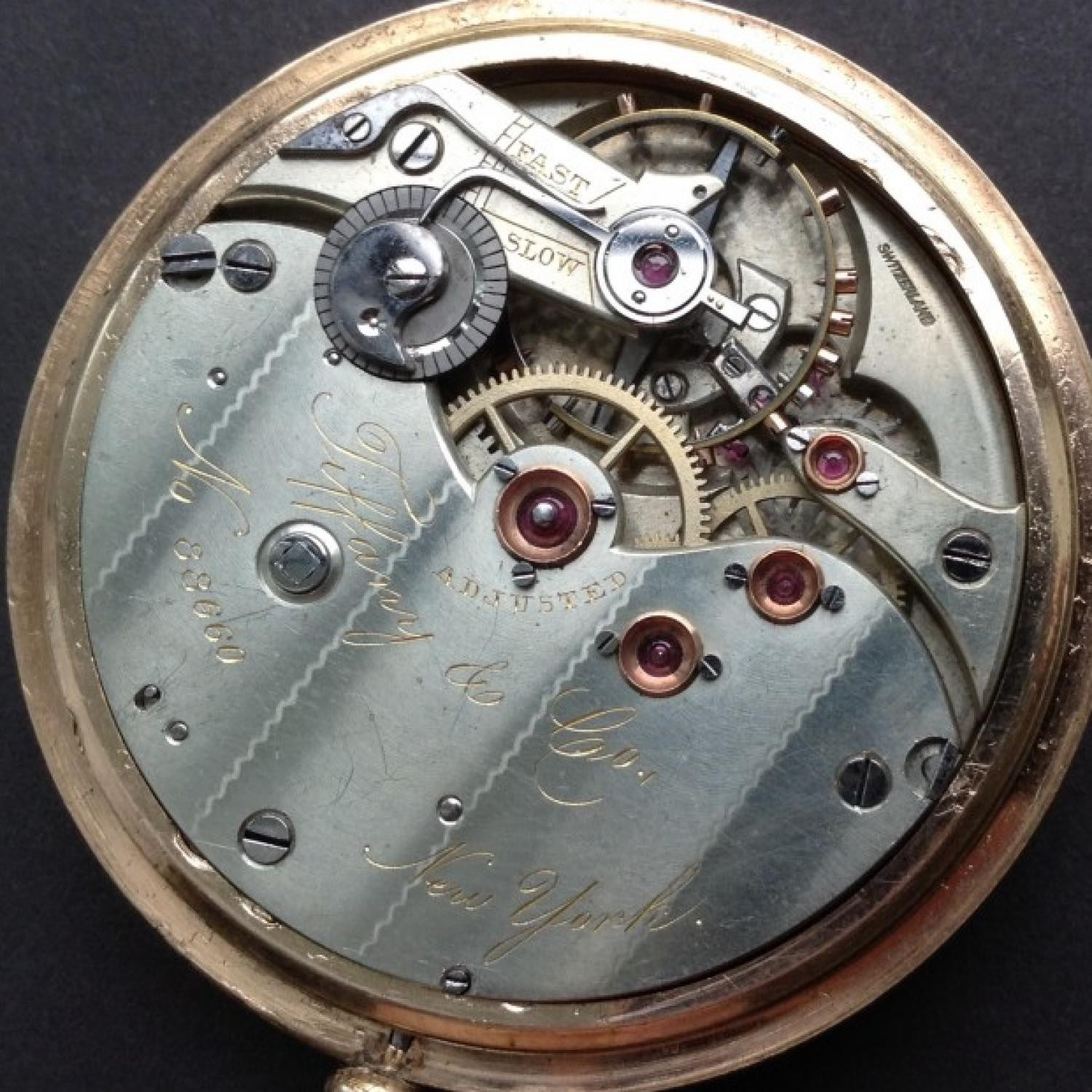 Image of Tiffany & Co. Unknown #88660 Movement