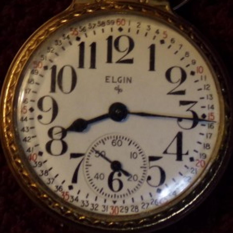 Image of Elgin 575 #H818131 Dial