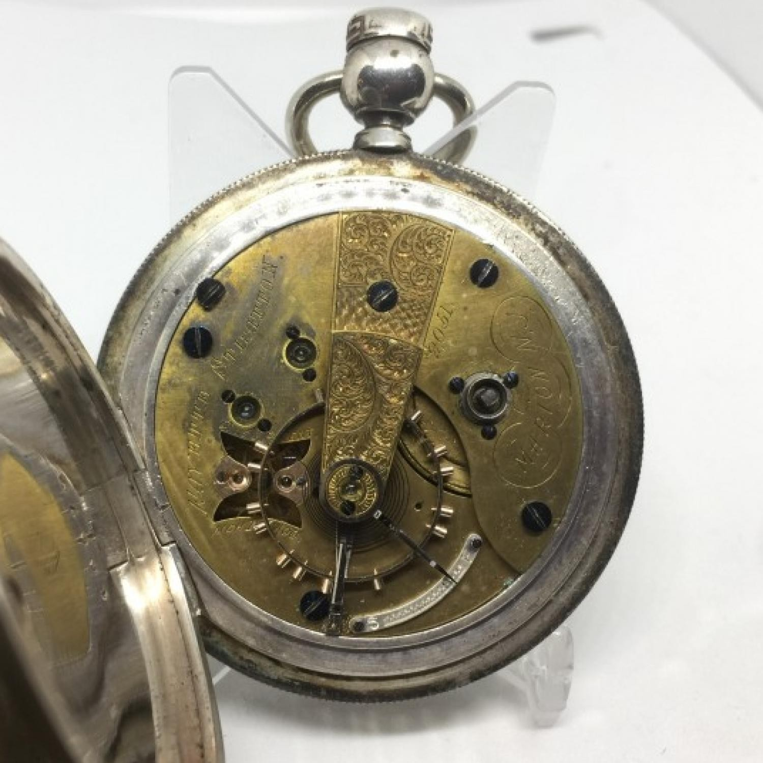 Image of U.S. Watch Co. (Marion, NJ) Fayette Stratton #2051 Movement