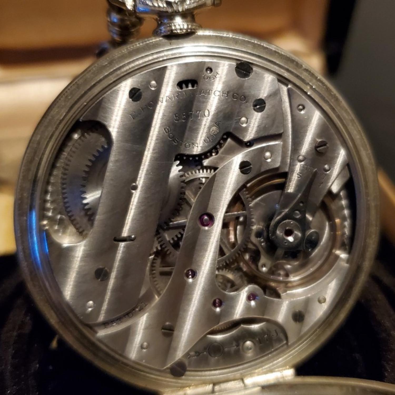 Image of E. Howard Watch Co. (Keystone) Series 12 #55770 Movement