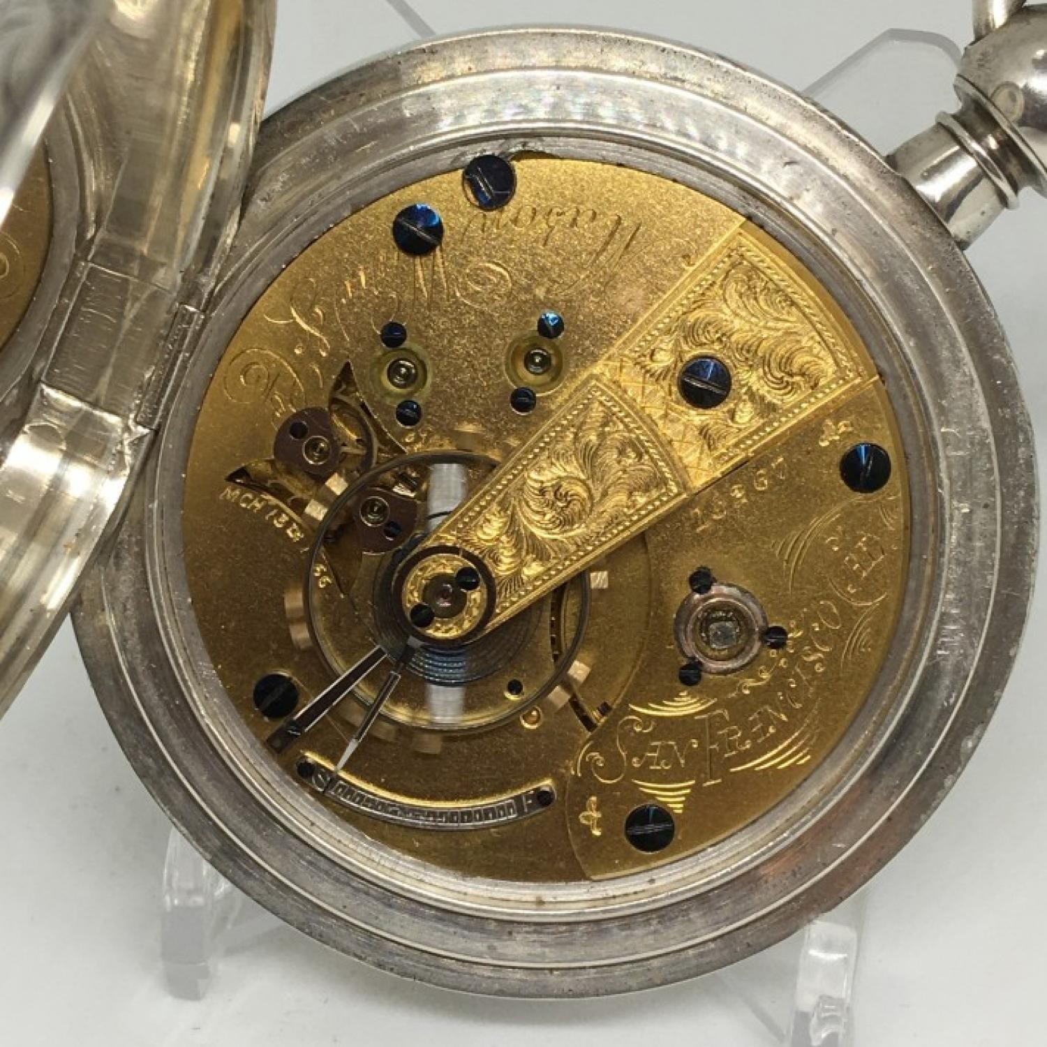 Image of U.S. Watch Co. (Marion, NJ) George Channing #15267 Movement