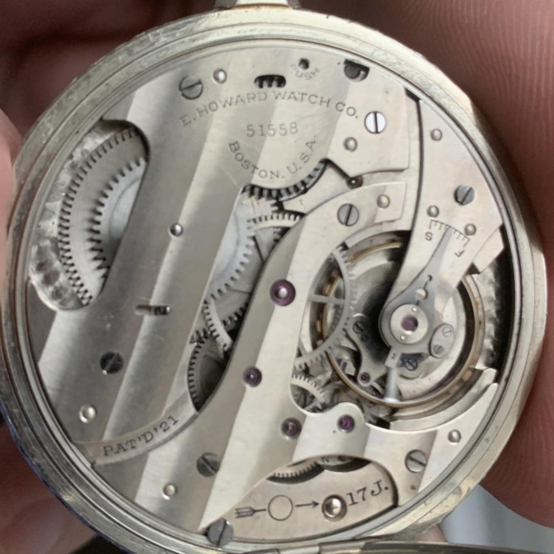 Image of E. Howard Watch Co. (Keystone) Series 12 #51558 Movement