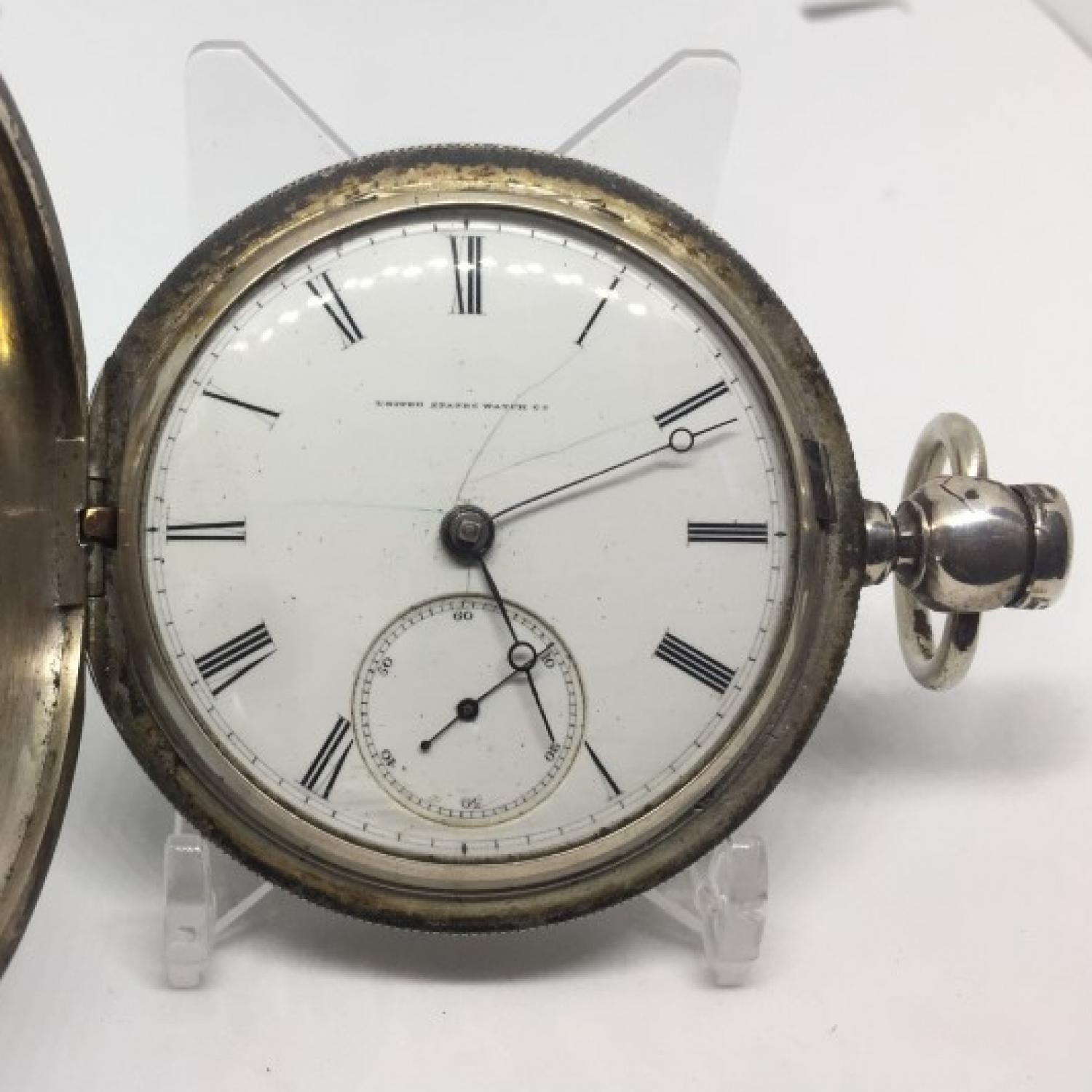 Image of U.S. Watch Co. (Marion, NJ) Fayette Stratton #2051 Dial