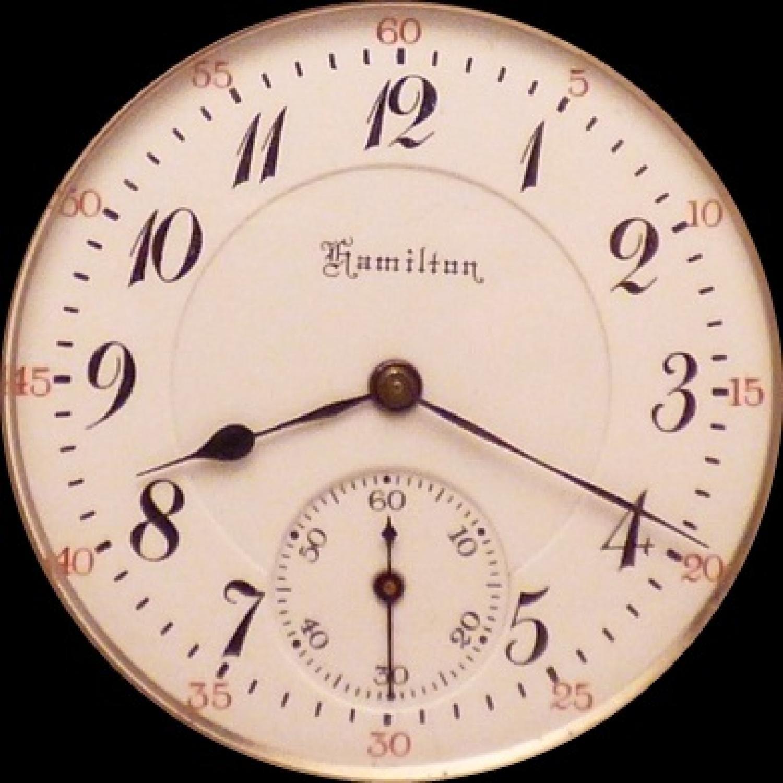 Image of Hamilton 972 #1052145 Dial