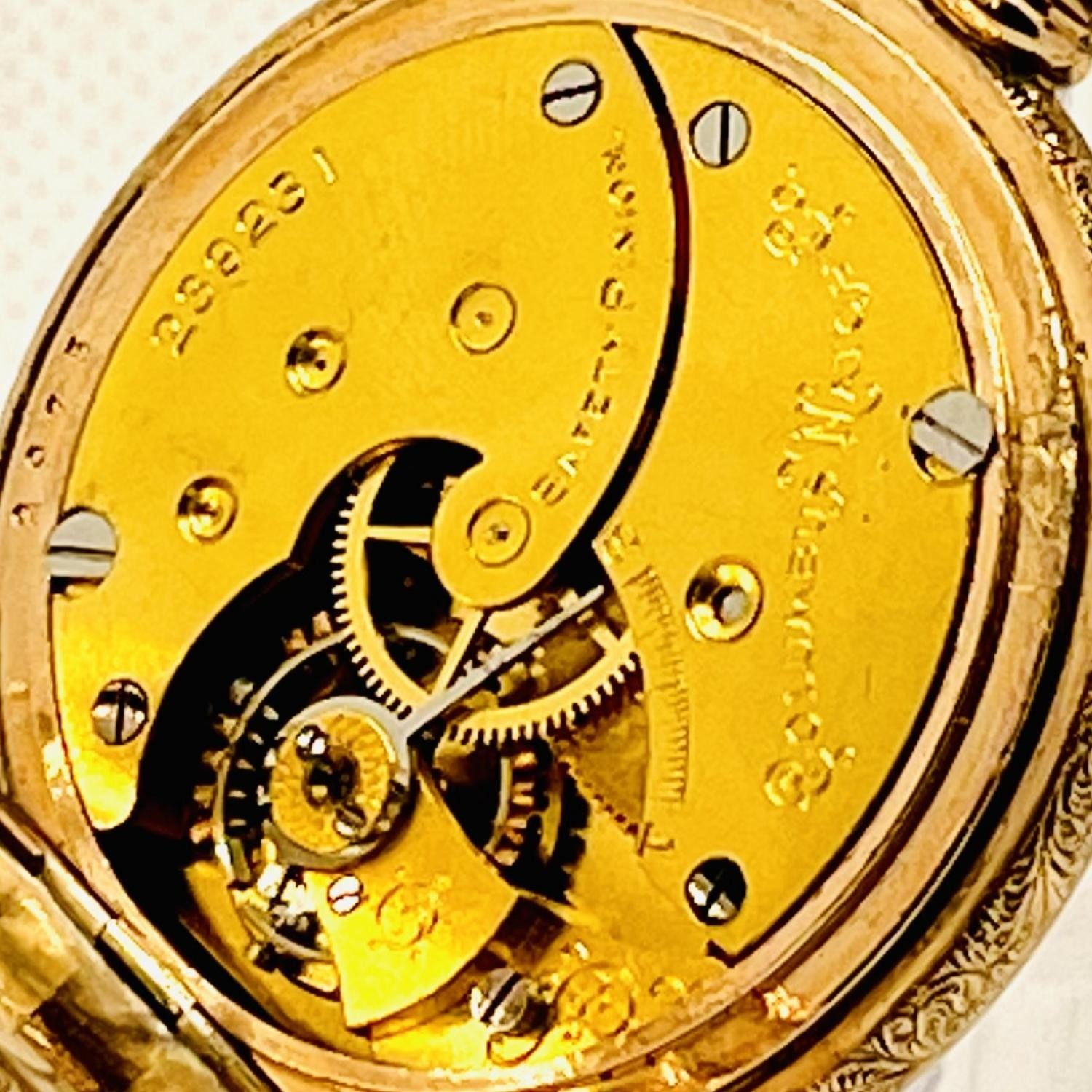 Image of Columbus Watch Co. Unknown #239231 Movement