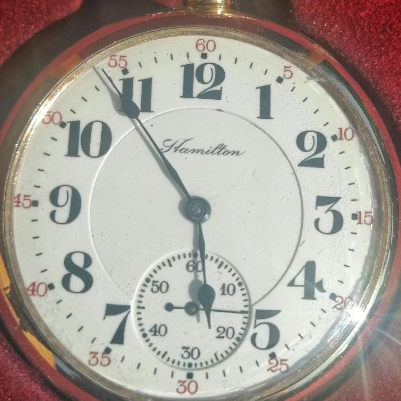 Image of Hamilton 992 #2523751 Dial
