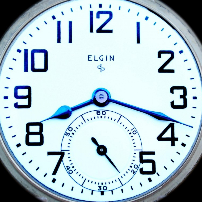 Image of Elgin 575 #N2731 Dial