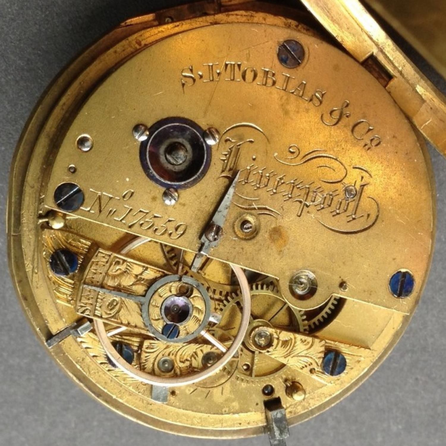 Image of Other S.I. TOBIAS & Co. #17559 Movement