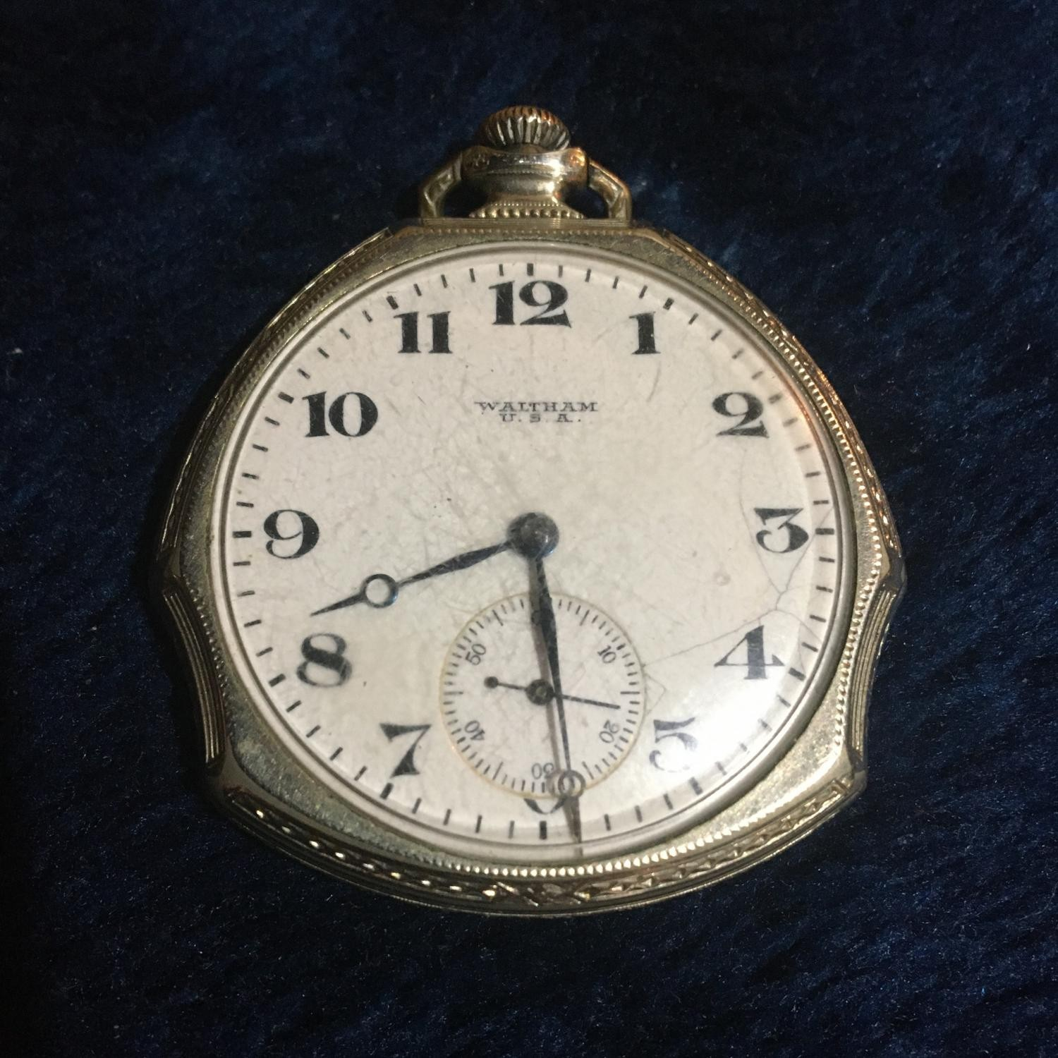 Image of Waltham No. 220 #21818938 Dial