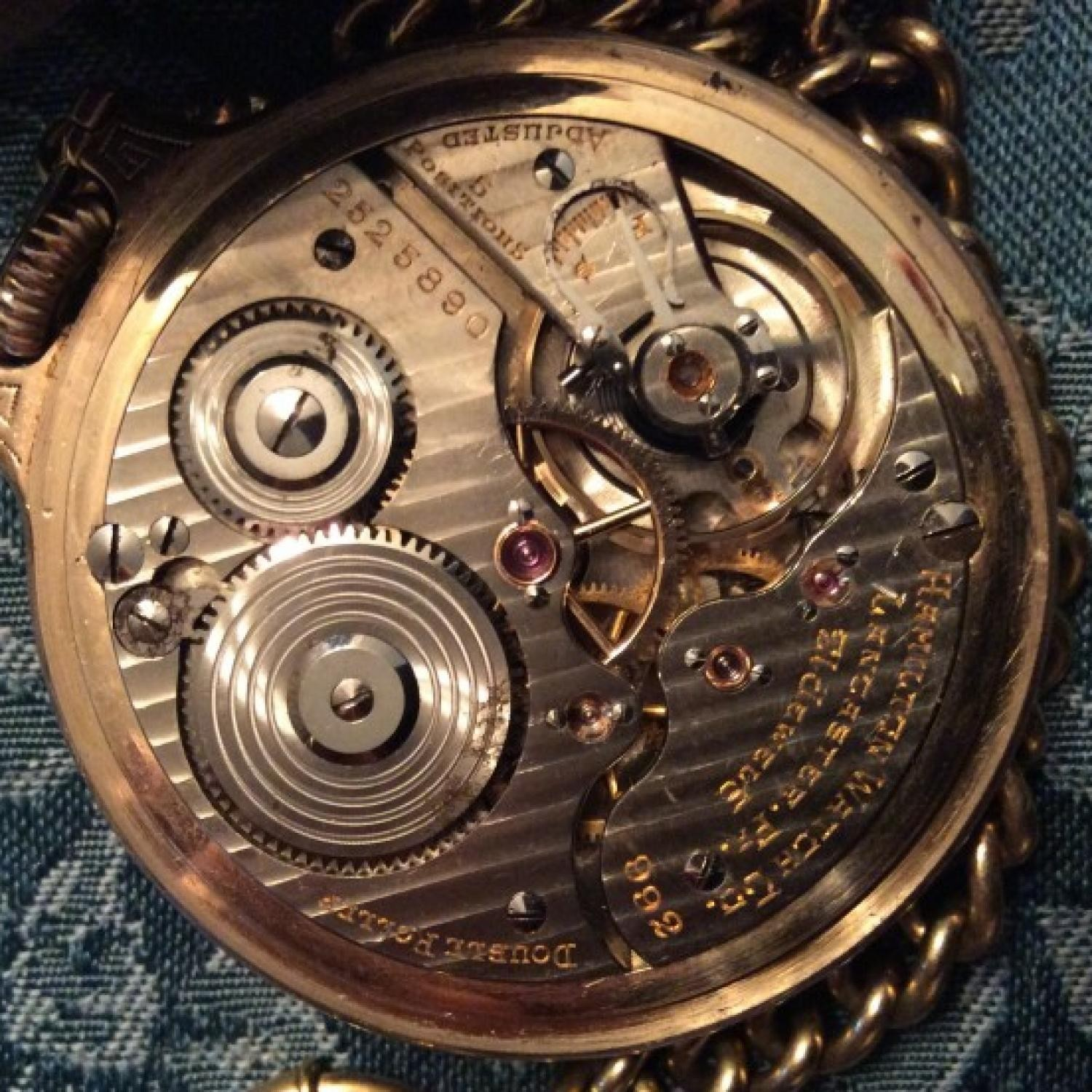 Image of Hamilton 992 #2525890 Movement
