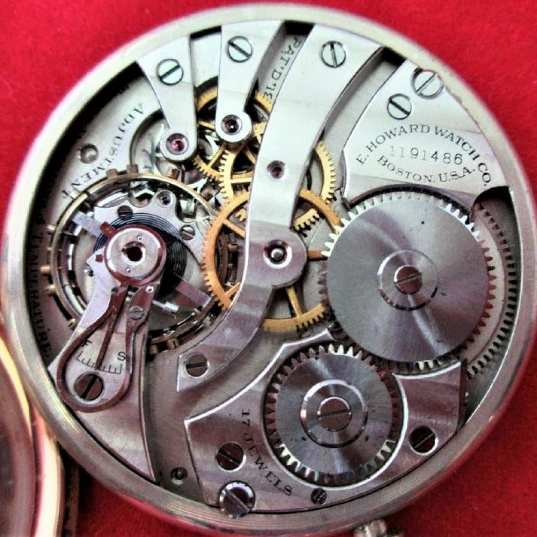 Image of E. Howard Watch Co. (Keystone) Series 7 #1191486 Movement