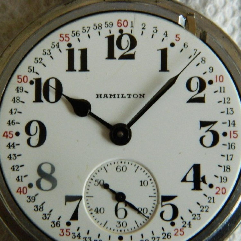 Image of Hamilton 992B #C7019 Dial