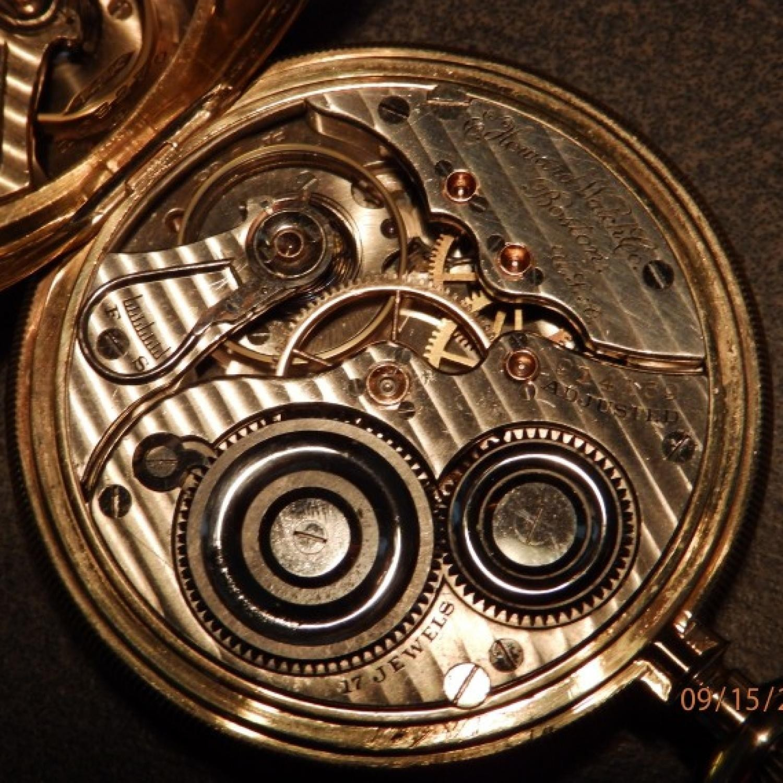 Image of E. Howard Watch Co. (Keystone) Series 2 #914169 Movement