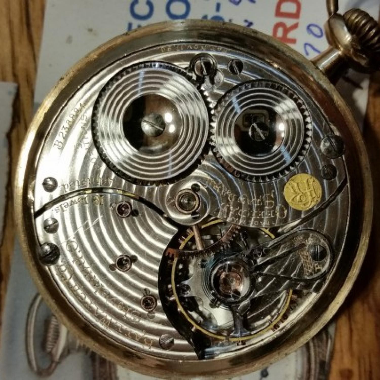 Image of Ball - Waltham Official Standard #B238884 Movement