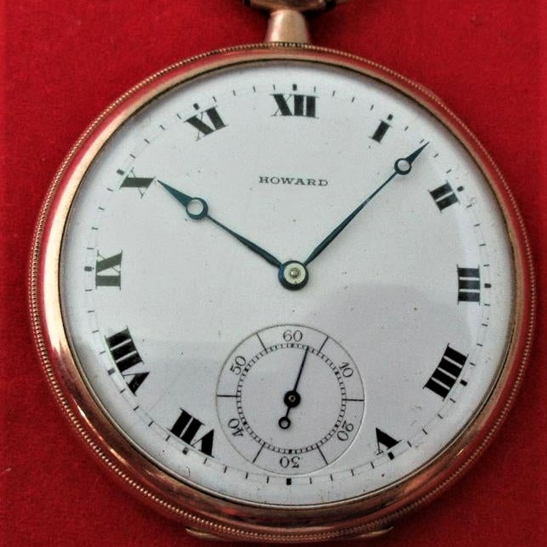 Image of E. Howard Watch Co. (Keystone) Series 7 #1191486 Dial