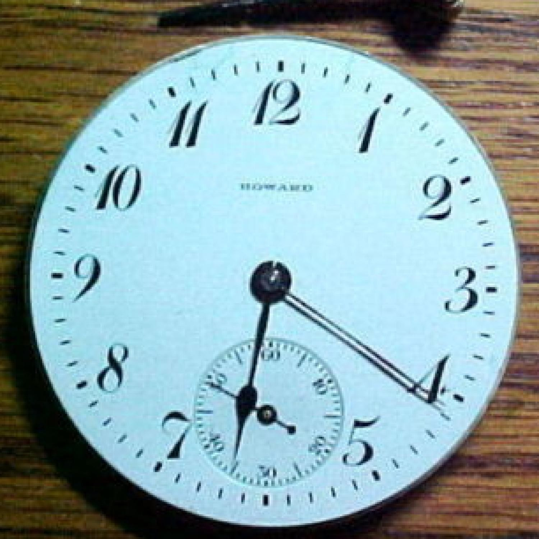 Image of E. Howard Watch Co. (Keystone) Series 8 #1120111 Dial