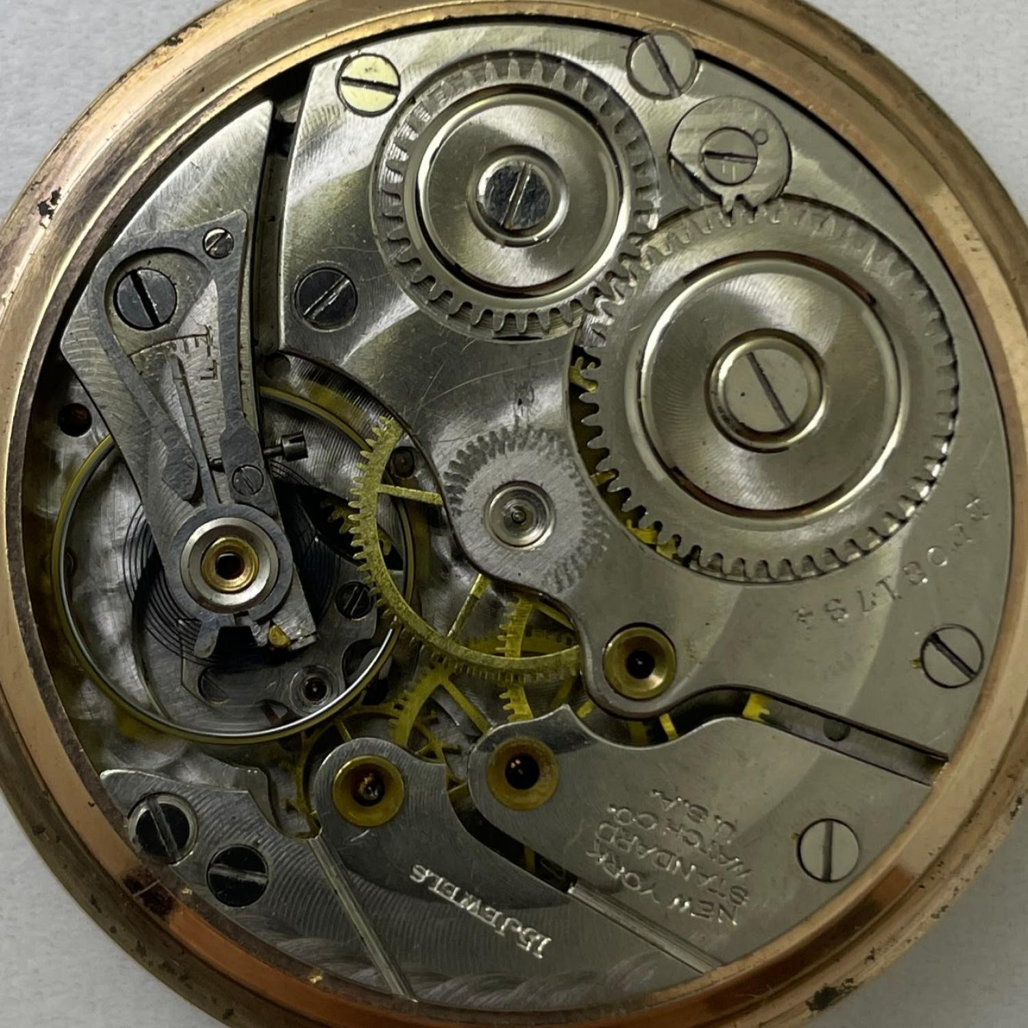 Image of New York Standard Watch Co. 1571 #BF081784 Movement