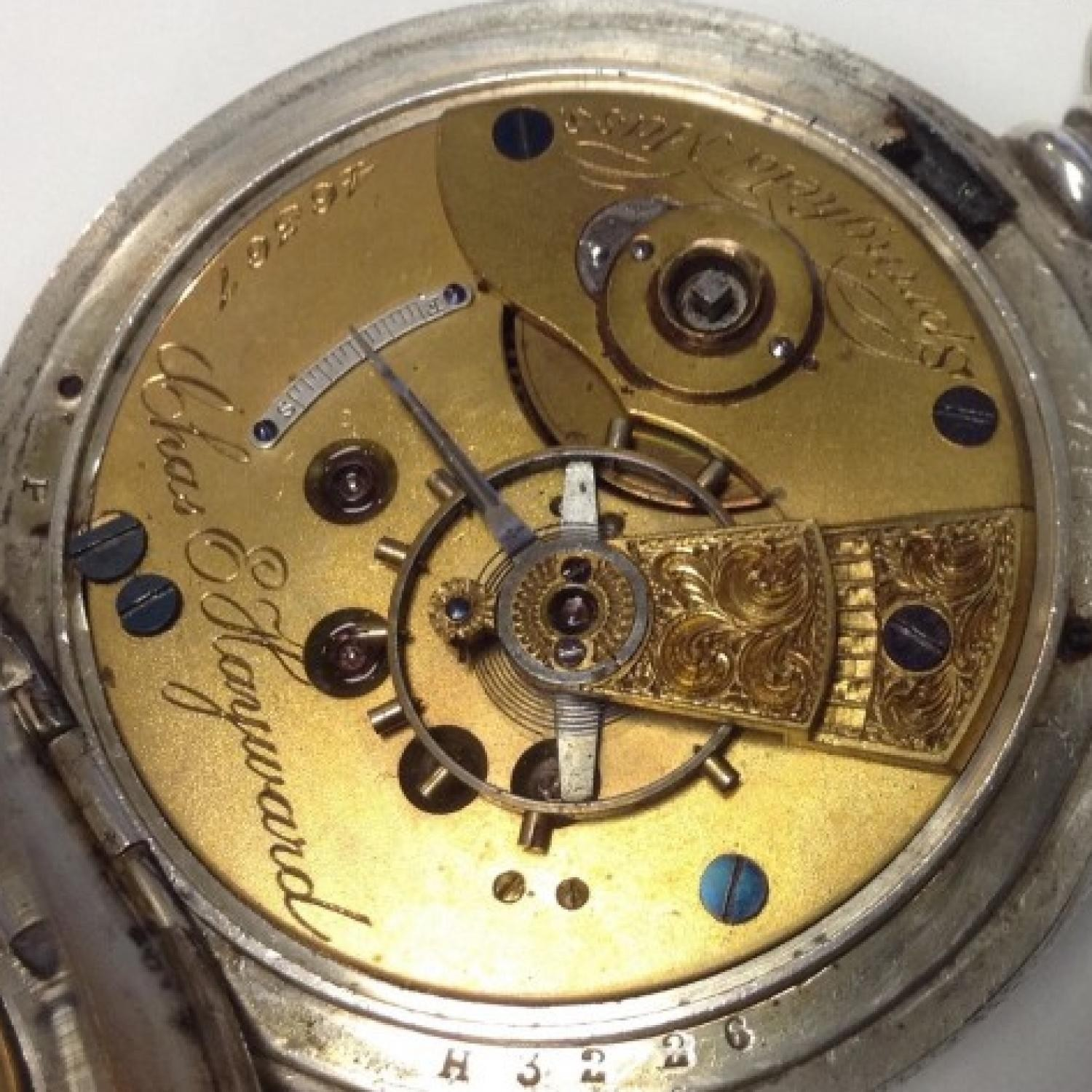 Image of New York Springfield Watch Co. Chas Hayward #46367 Movement