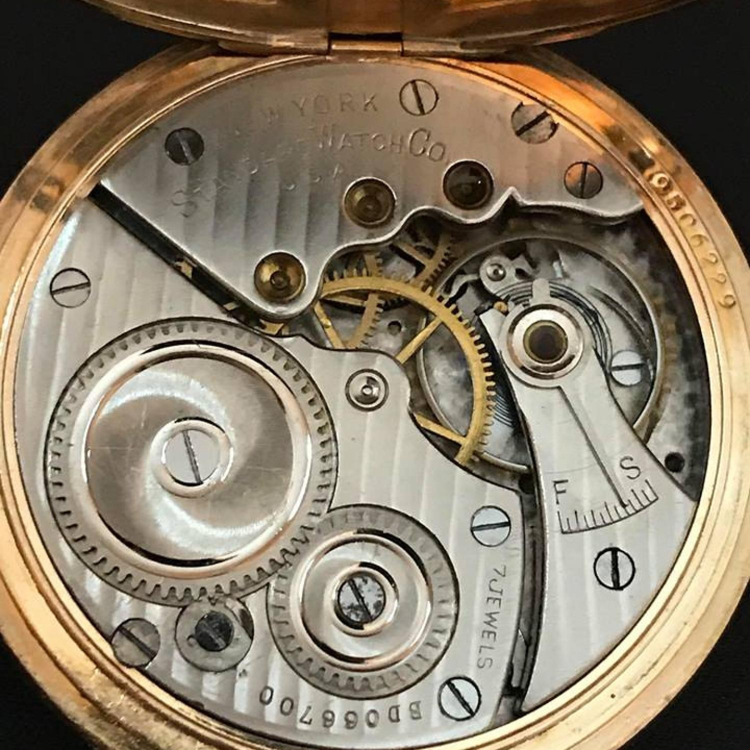 Image of New York Standard Watch Co.  #DB066700 Movement