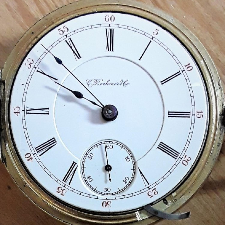 Image of Hamilton 937 #1821 Dial
