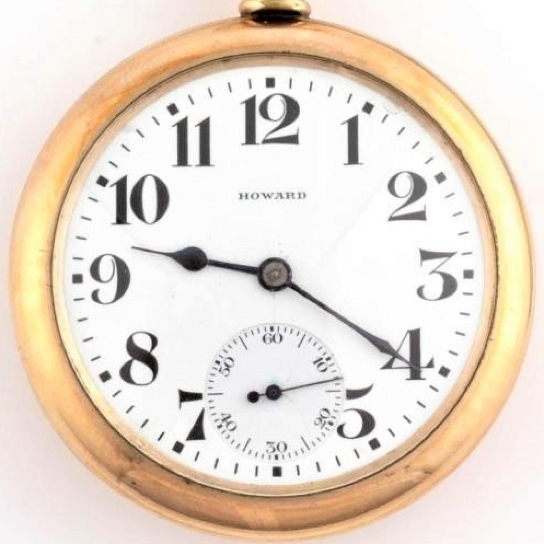 Image of E. Howard Watch Co. (Keystone) Series 11 #1360140 Dial