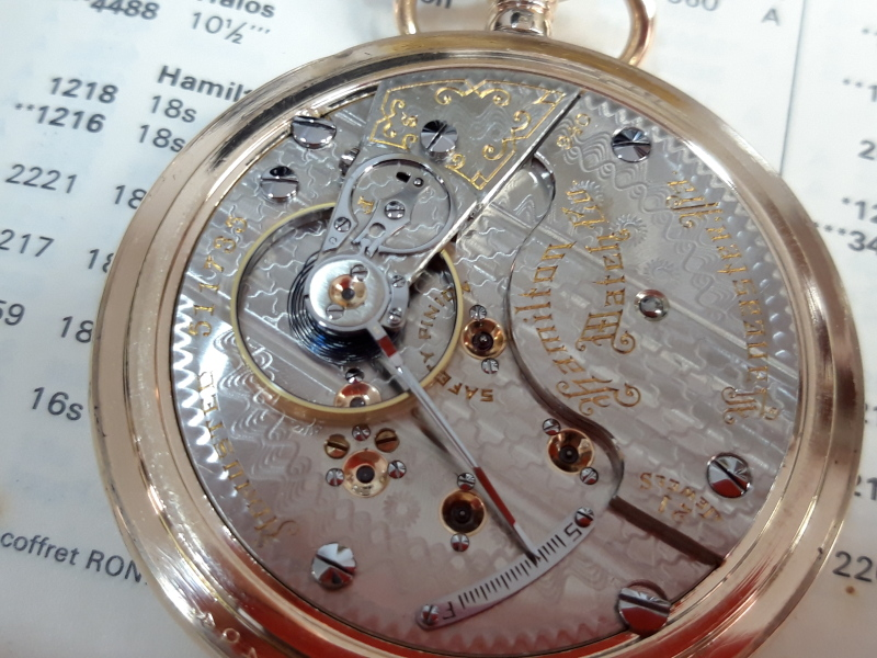 Image of Hamilton 940 #511735 Movement
