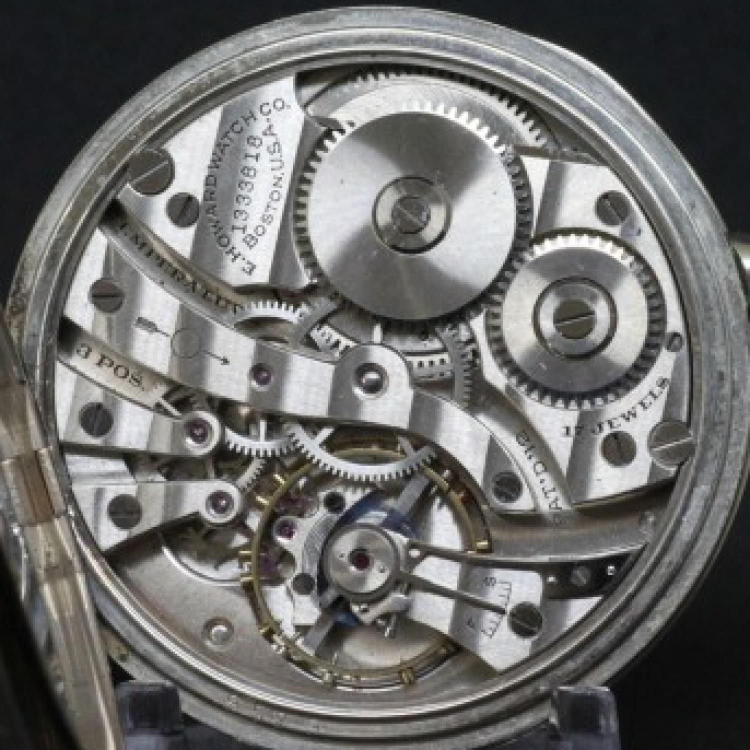 Image of E. Howard Watch Co. (Keystone) Series 7 #1333818 Movement