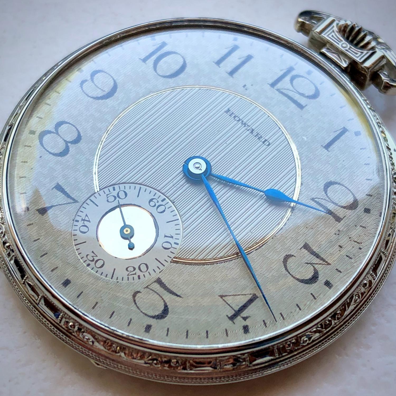 Image of E. Howard Watch Co. (Keystone) Series 12 #34466 Dial