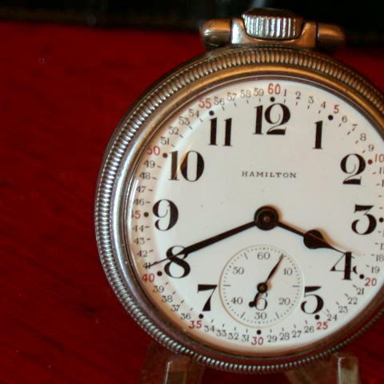 Image of Hamilton 992B #C74820 Dial