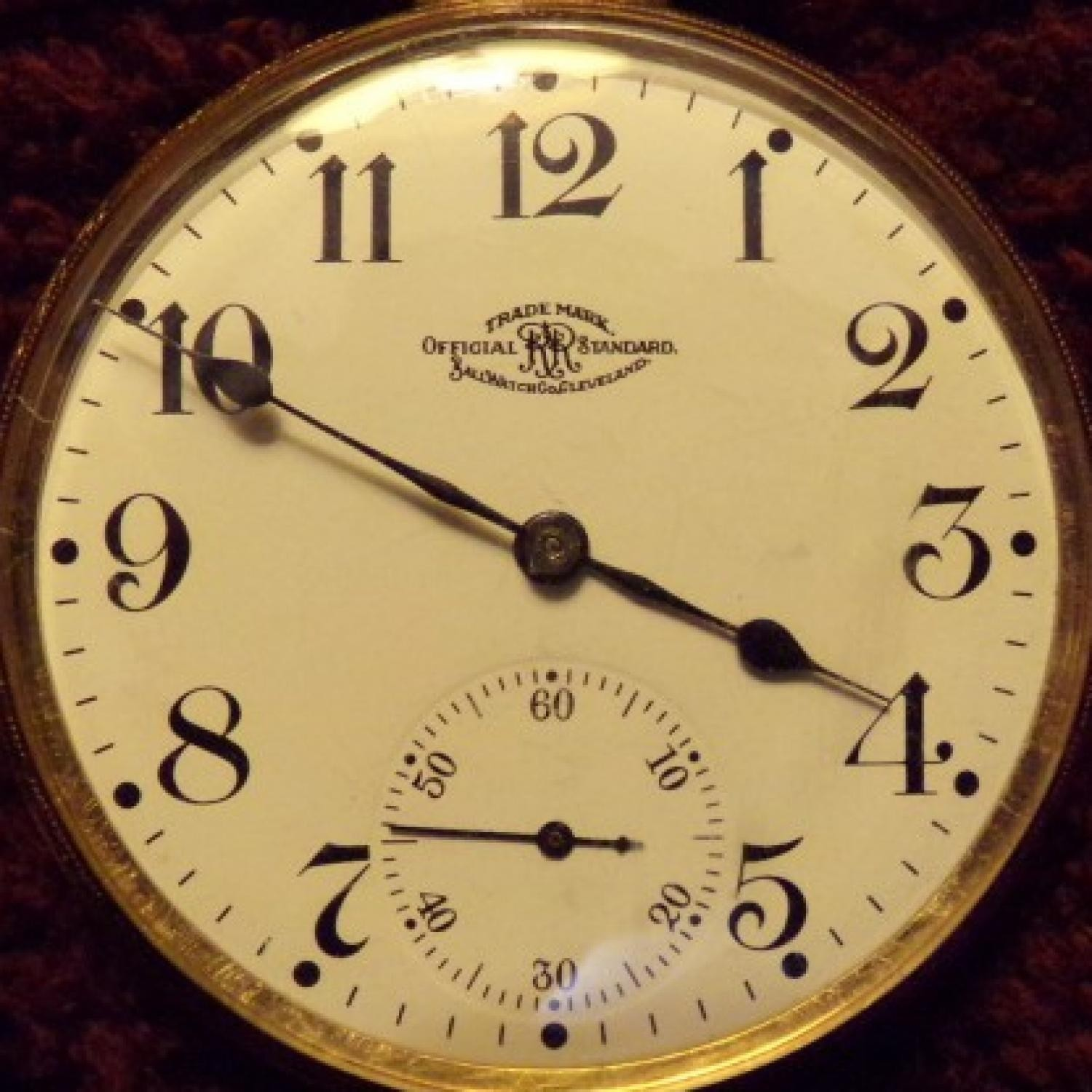 Image of Ball - Waltham Official Standard #B238977 Dial