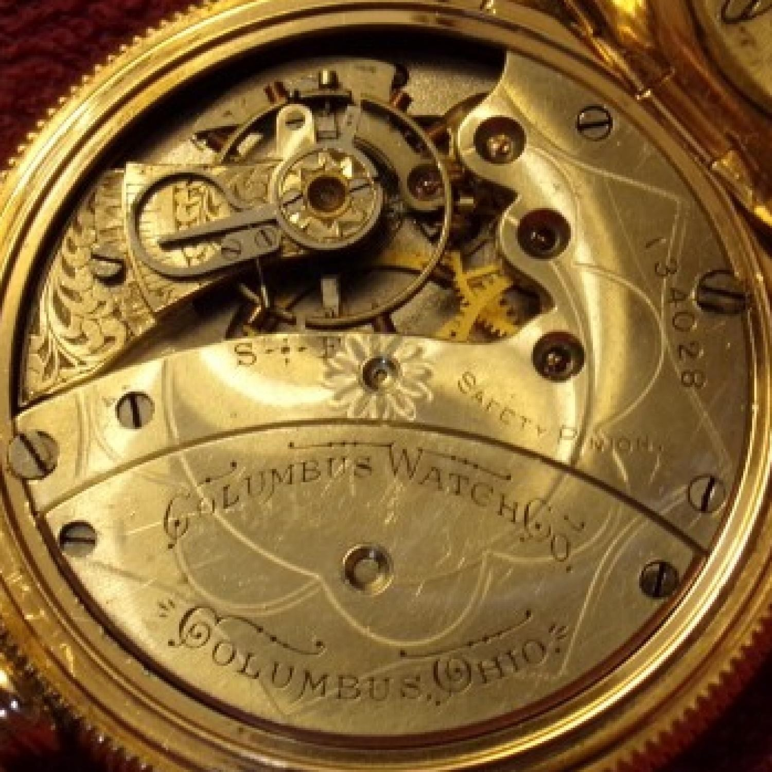 Image of Columbus Watch Co. Unknown #134028 Movement