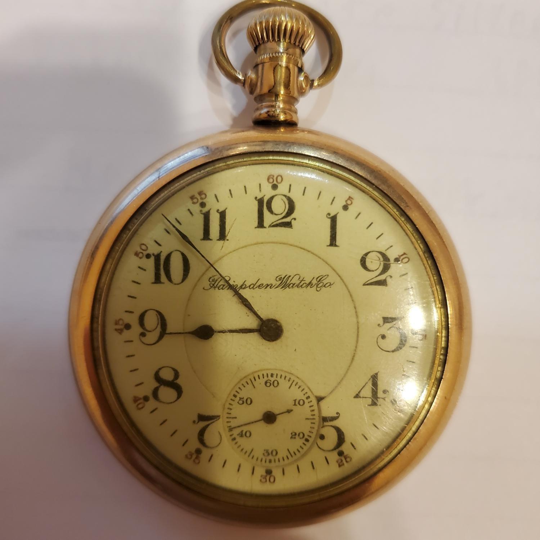 Image of Hampden Wm. McKinley #3391640 Dial