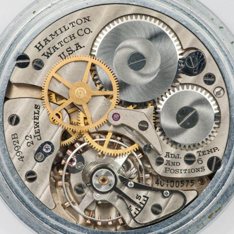 Image of Hamilton 4992B #4C100575 Movement