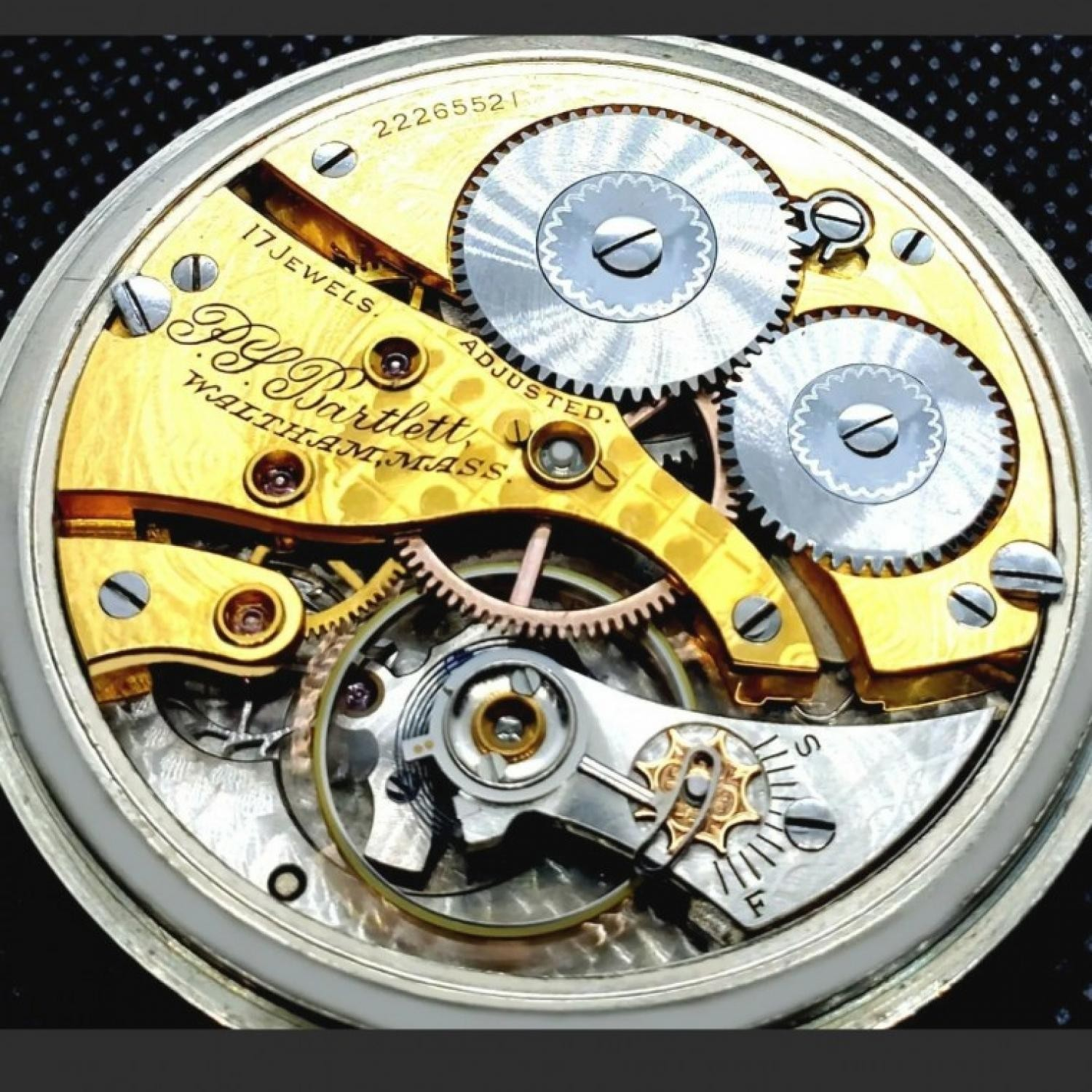 Image of American Watch Co. P.S Bartlett #22265521 Movement