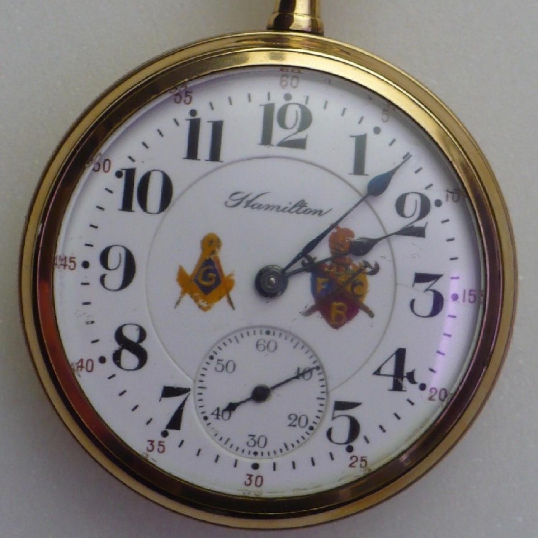Image of Hamilton 992 #1323527 Dial