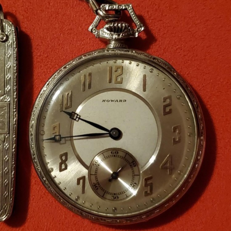 Image of E. Howard Watch Co. (Keystone) Series 12 #55770 Dial