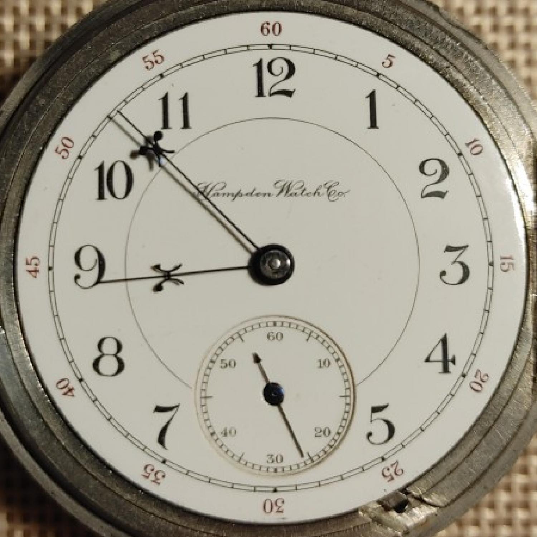Image of Hampden Dueber Watch Co. #1706026 Dial