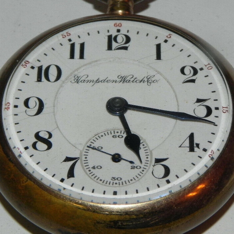 Image of Hampden Dueber Watch Co. #1751151 Dial
