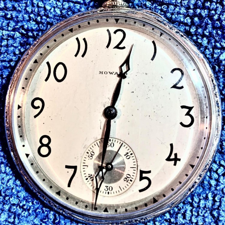 Image of E. Howard Watch Co. (Keystone) Series 7 #1339039 Dial