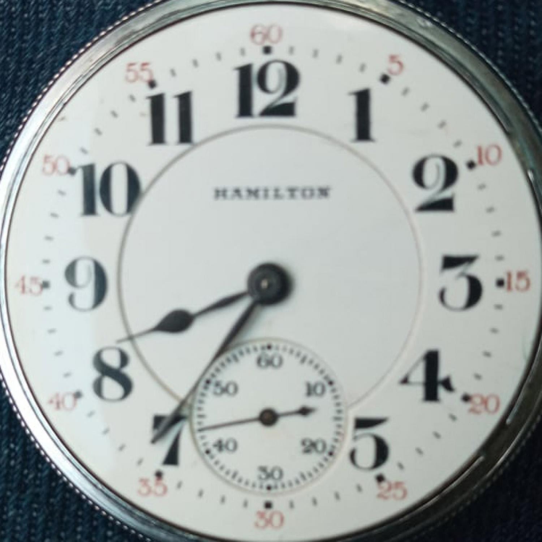 Image of Hamilton 993 #1556684 Dial