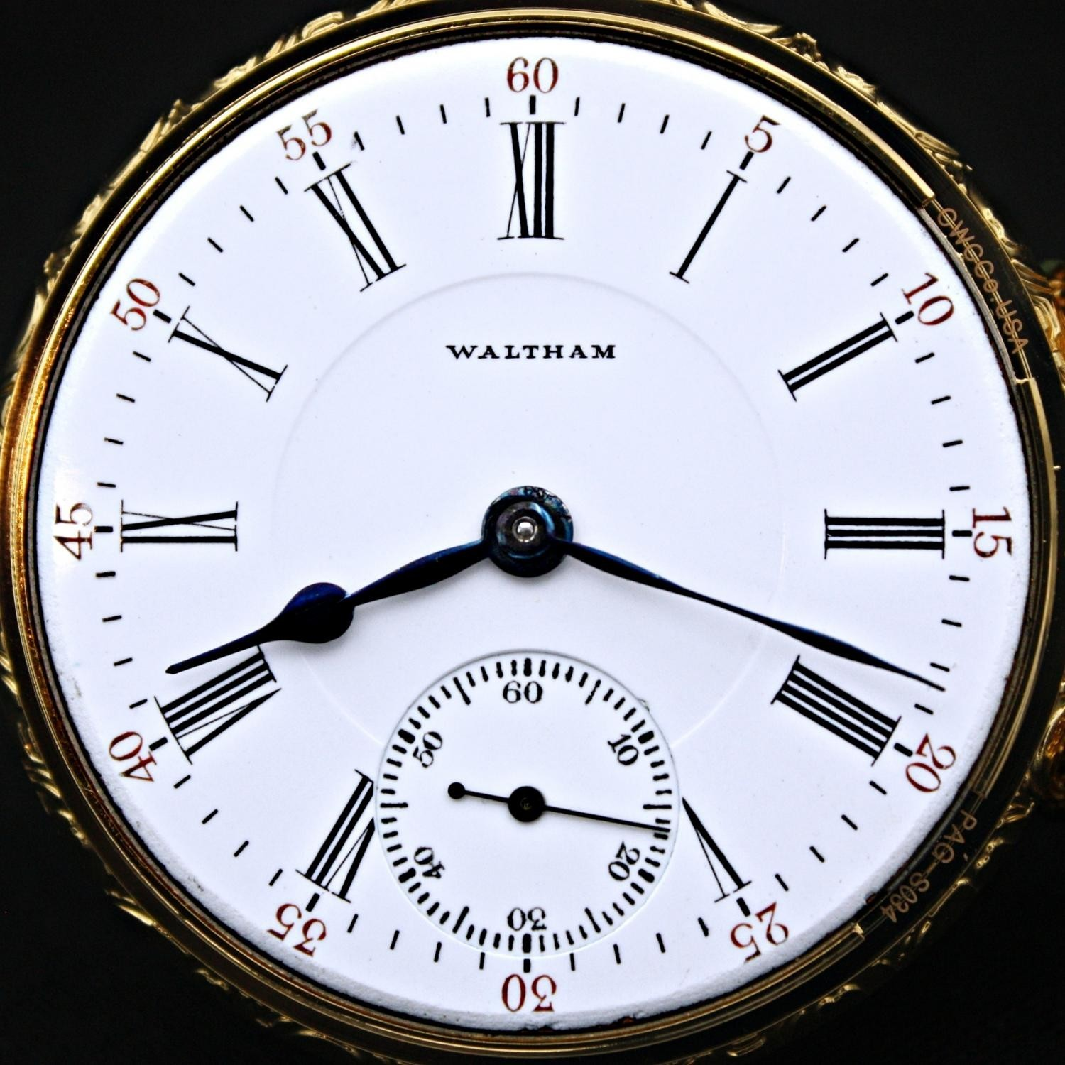 Image of Waltham P.S. Bartlett #22011629 Dial