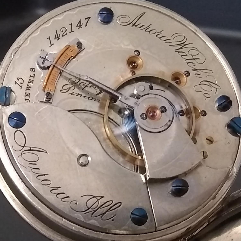 Image of Aurora Watch Co. Unknown #142147 Movement
