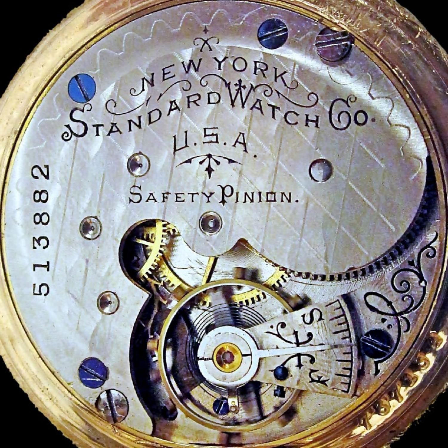Image of New York Standard Watch Co. 44 #513882 Movement