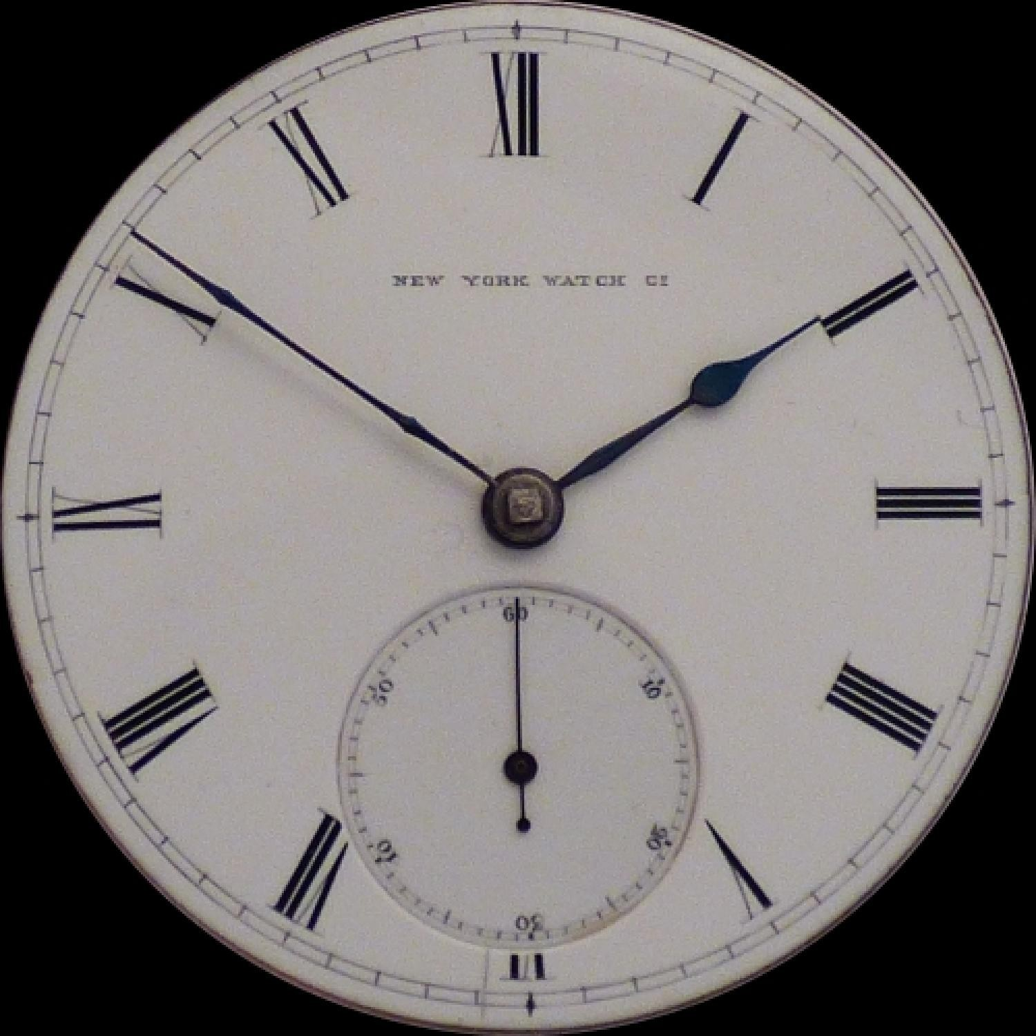 Image of New York Watch Co. Theo E.  Studley #39540 Dial