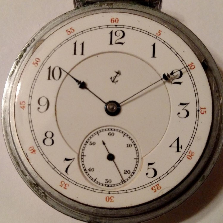Image of Hampden Anchor (in shield) #716033 Dial