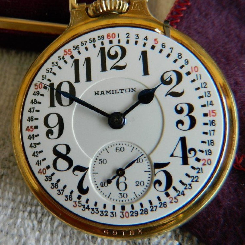 Image of Hamilton 992E #2627731 Dial